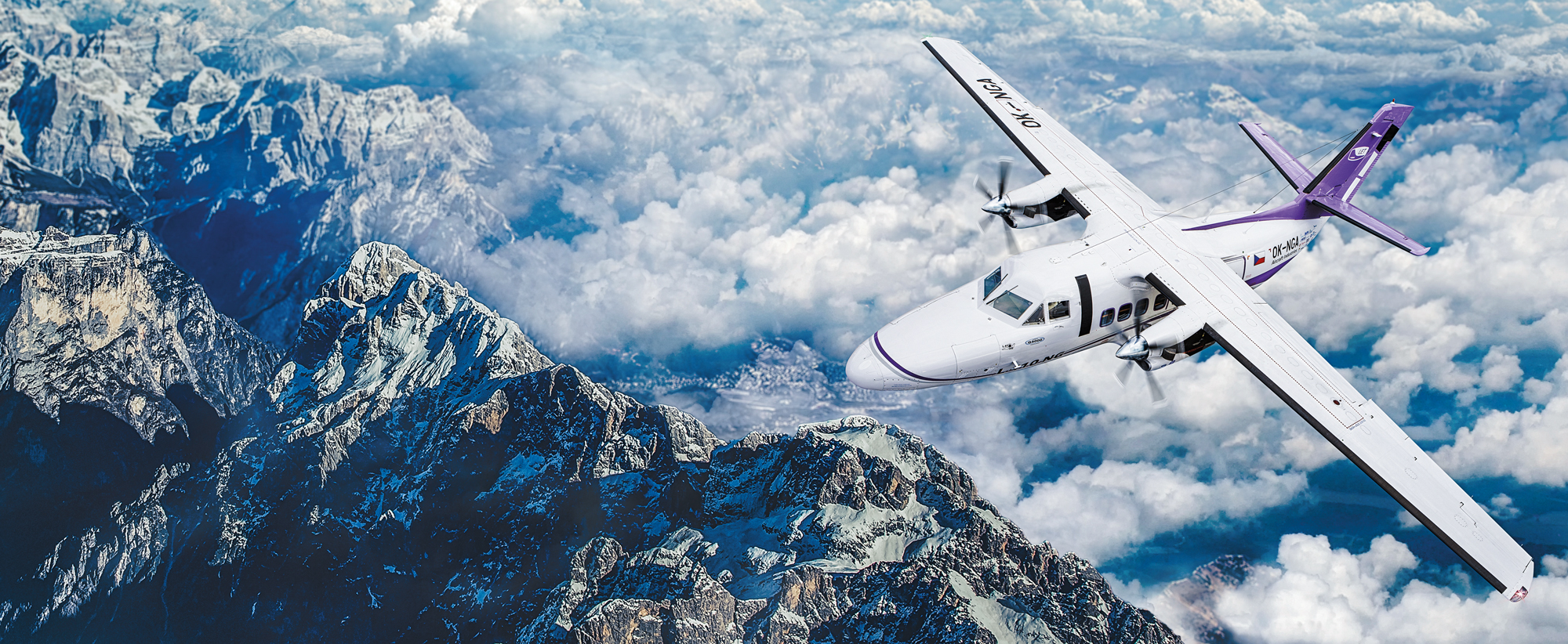 L 410 NG HEADS HIGH AND CAN LAND ANYWHERE