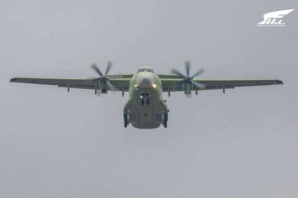 Light military transport aircraft IL-112V made its first flight