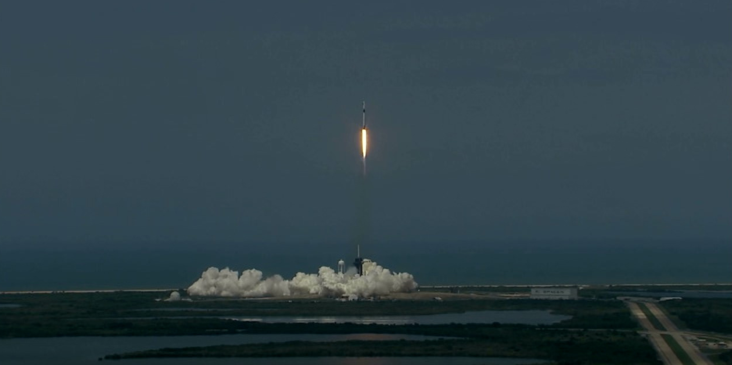 LIFTOFF! NASA's SpaceX Demo-2 Launches the Commercial Crew Era