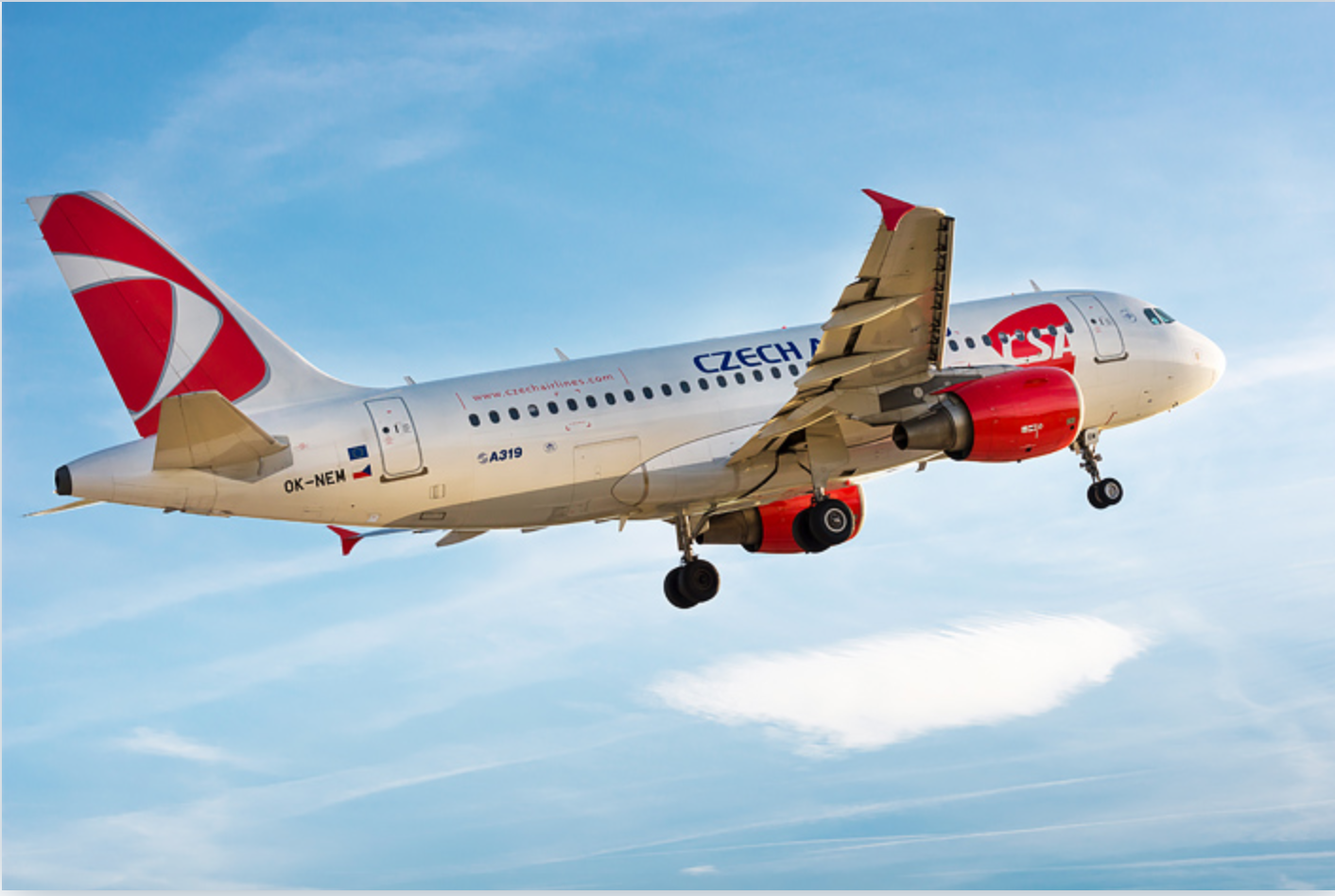Czech Airlines filed for reorganization in the Municipal Court of Prague